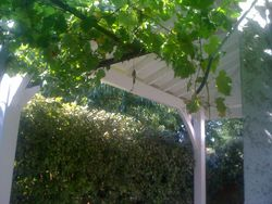 Terrasse couverte à Renage 38