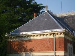 Restauration couverture ardoise à Rives