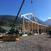 Bâtiment artisanal dans le massif des Bauges